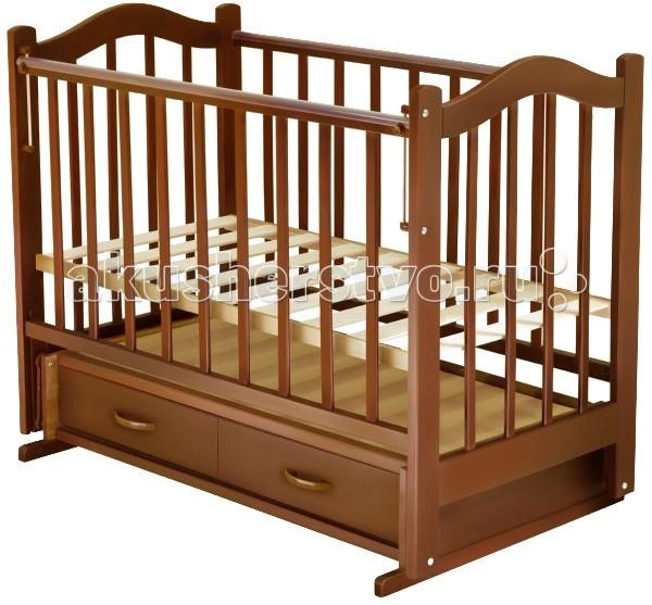 Детская кроватка Ведрусс Лана №4 маятник - Орех