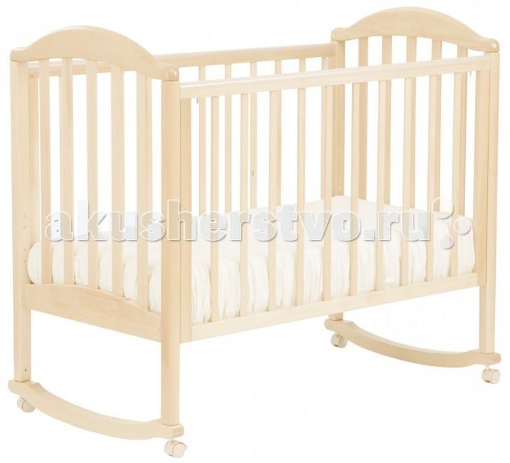 Детская кроватка Кубаньлесстрой АБ 17.0 Лилия Люкс качалка без ящика