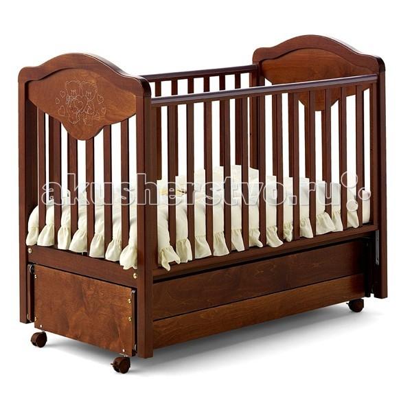 Детская кроватка Baby Italia Gioco LUX маятник cо стразами