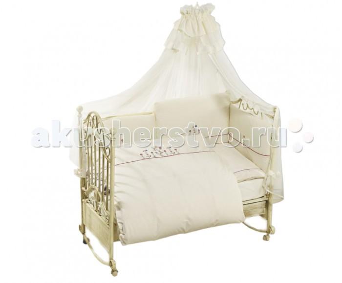 Комплект для кроватки Feretti Vintage Flowers Sestetto (6 предметов)