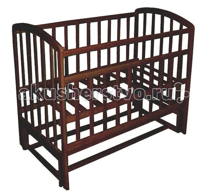 Детская кроватка Фея 312 продольный маятник312 продольный маятникДетская кроватка Фея 312 продольный маятникизготовлена из натурального материала сбезвредным лакокрасочным покрытием.   Боковины и дно кроватки реечные. Имеет прочную, легко собираемую конструкцию.Бортики кроватки оснащены пластиковыми накладками.  Механизм автостенки позволяет опускать боковую стенку одной рукой. Кроватка обеспечит малышу комфортный здоровый сон.   Особенности: два положения ложа  Автостенка - механизм опускания одной рукой  маятниковый механизм продольного качания  накладки ПВХ<br>