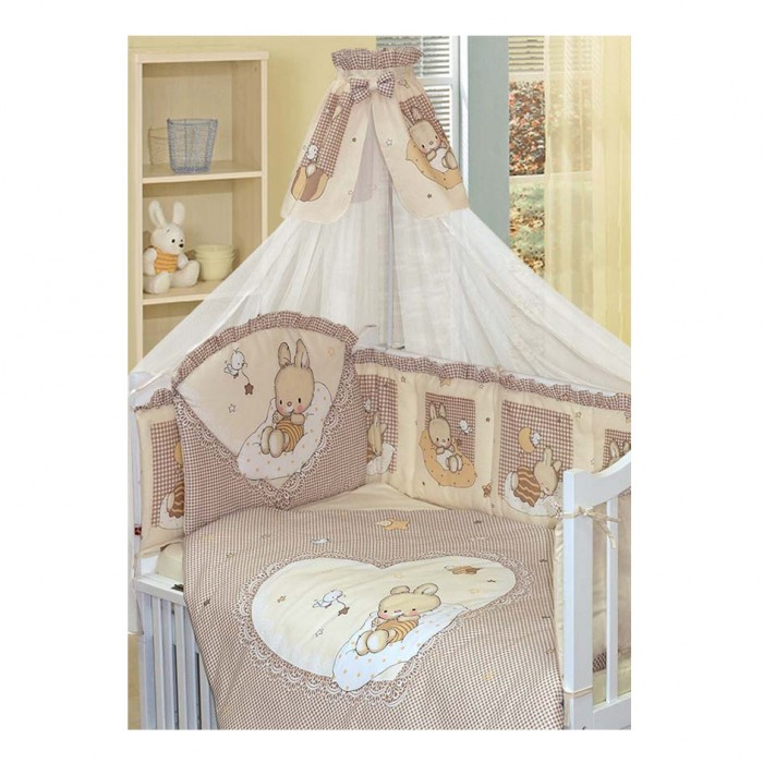 Комплект для кроватки Золотой Гусь Степашка (7 предметов)