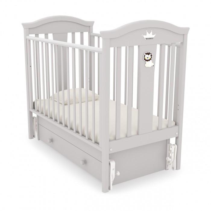 Детская кроватка Гандылян Даниэль (универсальный маятник) - Белый