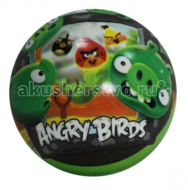 1 Toy Angry Birds Мондо мяч 23 см