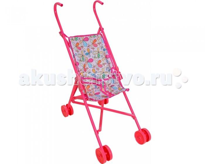 Коляска для куклы 1 Toy трость Т57305