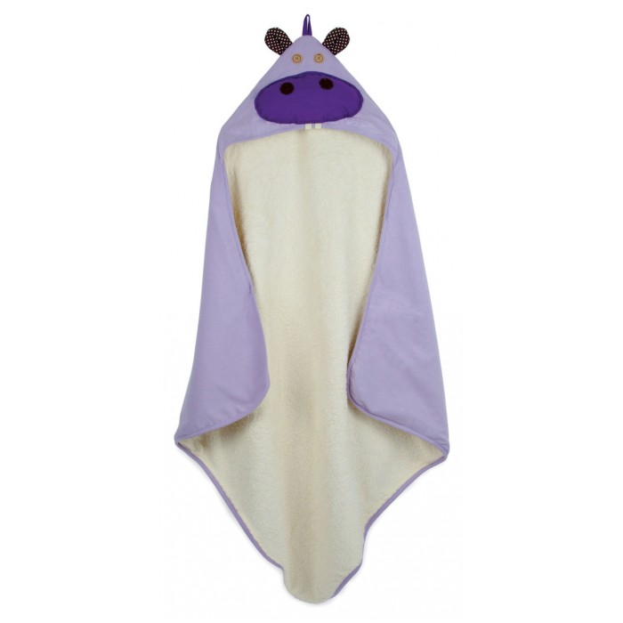 3 Sprouts Детское полотенце с капюшоном