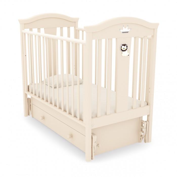 Детская кроватка Гандылян Даниэль (универсальный маятник) - Слоновая кость