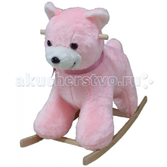 Качалка Тутси мягкая Медведьмягкая МедведьМягкая и удобная качалкаМедведь выполнена из красочного высококачественного текстильного материала на деревянных дуговых подставках с удобным креслом. Для комфотного качания имеютсядеревянные держатели. Предназначена для детей от 12 месяцев  Максимальная нагрузка: 25 кг  Вес брутто: 4.5 кг<br>