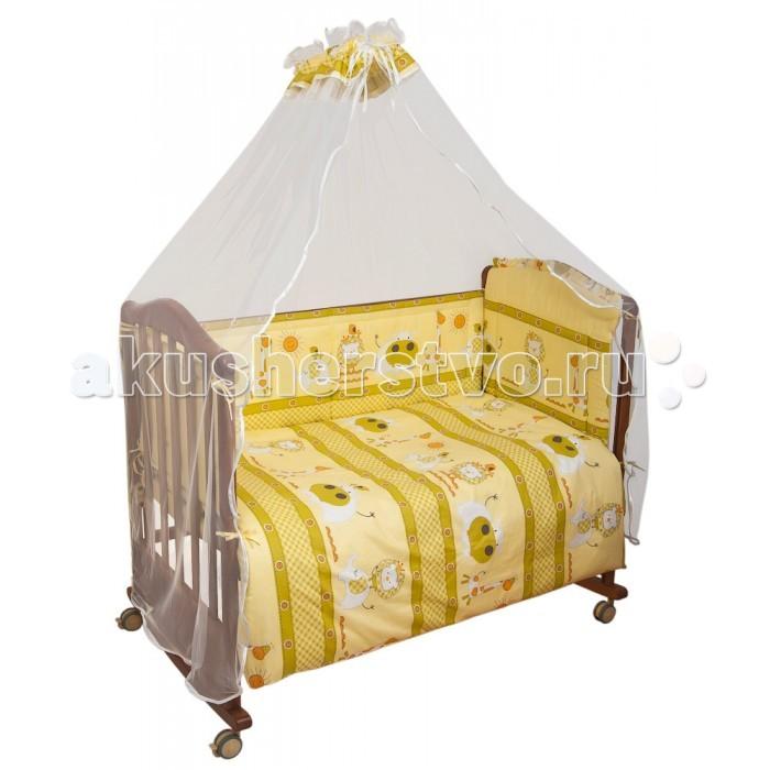 Комплект в кроватку Сонный гномик Лимпопо (7 предметов)