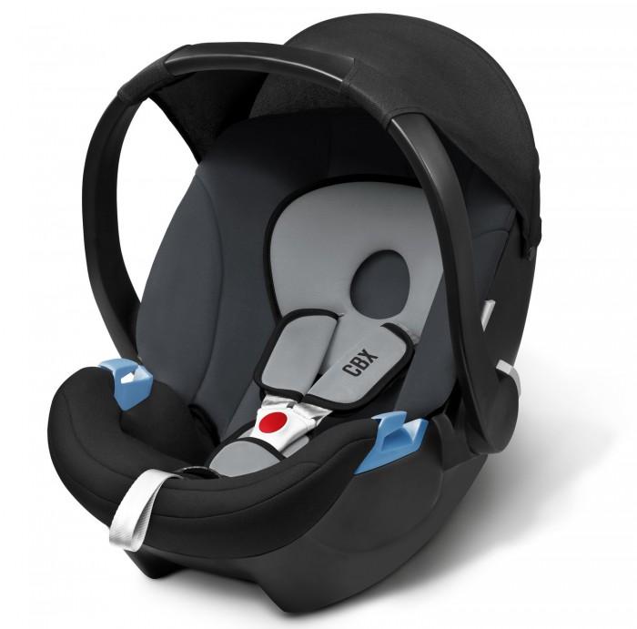 """Автокресло Cybex CBX Aton BasicCBX Aton BasicАвтокресло предназначено для перевозки малышей с рождения до 13 кг (примерно до 1,5 лет). Для новорожденных предусмотрен вкладыш, который по мере роста вынимается.  Характеристики детского автокресла Cybex Aton Basic:   3-х точечные внутренние ремни безопасности с мягкими накладками надёжно удержат малыша в автокресле  Мягкий материал отделки будет особенно приятен малышу.  Регулируемая в нескольких положениях ручка может служить дополнительным упором при установке в автомобиль. Солнцезащитный капюшон регулируется вместе с рукояткой  Высокие показатели безопасности в независимых краш-тестах. Автокресло Cybex Aton Basic соответствует самым последним нормам по безопасности для детских автомобильных кресел ECE R44/04  Данное кресло можно установить на коляски фирмы Cybex при помощи специального адаптера (приобретается отдельно)  В машине кресло устанавливается только спиной по ходу движения. Крепление кресла происходит 3-х точечными штатными ремнями безопасности  Изогнутое дно позволит использовать автокресло в качестве качалки  Съемный чехол можно стирать при температуре 30 градусов   Особенности:  Съемный чехол, стирающийся при 30 градусах  Соответствие стандартам ECE 44/04  Тип внутренних ремней - трехточечные внутренние ремни  Мягкие накладки на внутренние ремни - есть  Поддержка головы новорожденного - есть  Использование в качестве качалки - есть  Использование в качестве переноски - есть  Ручки для переноски - есть  Регулировка высоты внутренних ремней - есть  Тент от солнца - есть  Съемный чехол - есть  Вес 2.9 кг  Размеры(ДхШхВ) - 63х47х56 см  Вес кресла всего 2,9 кг - одно из самых лёгких в своей группе!  Награды:  победитель конкурса университета Stiftung Warentest - Группа 0+ без базы (06/2009)  немецкий автомобильный клуб ADAC - хорошо  австрийский автомобильный клуб &#214;AMTC - хорошо  оценка TCS - достойный рекомендации  Autobild.de - очень хорошо""""<br>"""