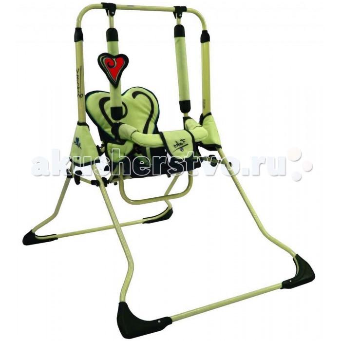 Качели Tako Swing II We Love KidsSwing II We Love KidsКачели Tako Swing II We Love Kids предназначены для детей от 1 года до 4 лет весом до 25 кг. Они не оставят ни одного непоседу равнодушным. Очень удобные и компактные порадуют так же и родителей.Сделаны из высококачественных материалов, продуманы до мелочей для максимального удобства.   Характеристики: Cиденье с креплением для ног Съемный держатель для ребенка Защита от самопроизвольного складывания. Мягкие ручки качелей. Быстрое и компактное складывание. Ремень безопасности. От 1 года до 4 лет весом до 25 кг.  Размеры детских качелей: 62 х 107 х 105 см Размеры в сложенном виде: 62 х 127 х 20 см<br>