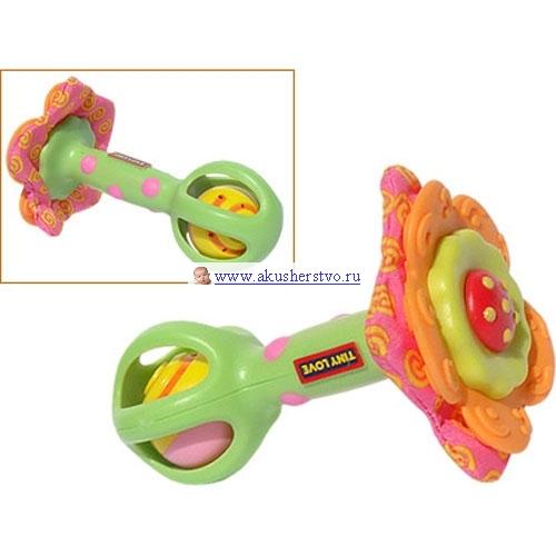 Погремушка Tiny Love Развивающая игрушка Цветочек