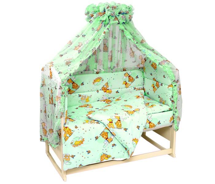 Комплект в кроватку Топотушки Жираф Вилли (7 предметов)