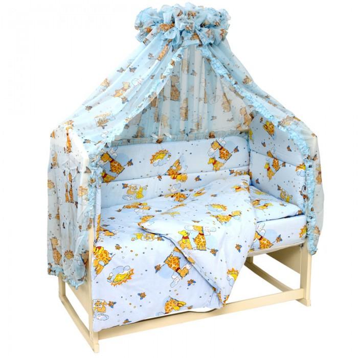 Бампер для кроватки Топотушки Жираф Вилли