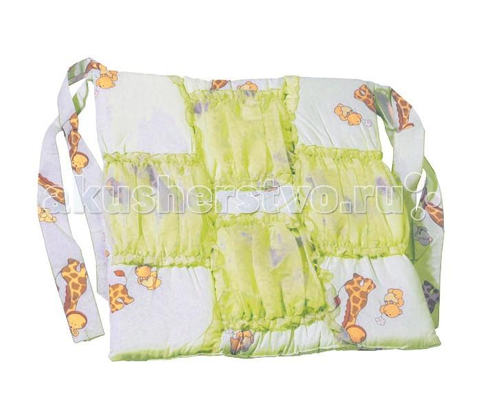 Топотушки Карман на кроватку Жираф ВиллиКарман на кроватку Жираф ВиллиКарман на кроватку для аксессуаров. Из импортной ткани 100% х/б (Европа). Наполнитель синтепон.  Размер: 60х60 см<br>