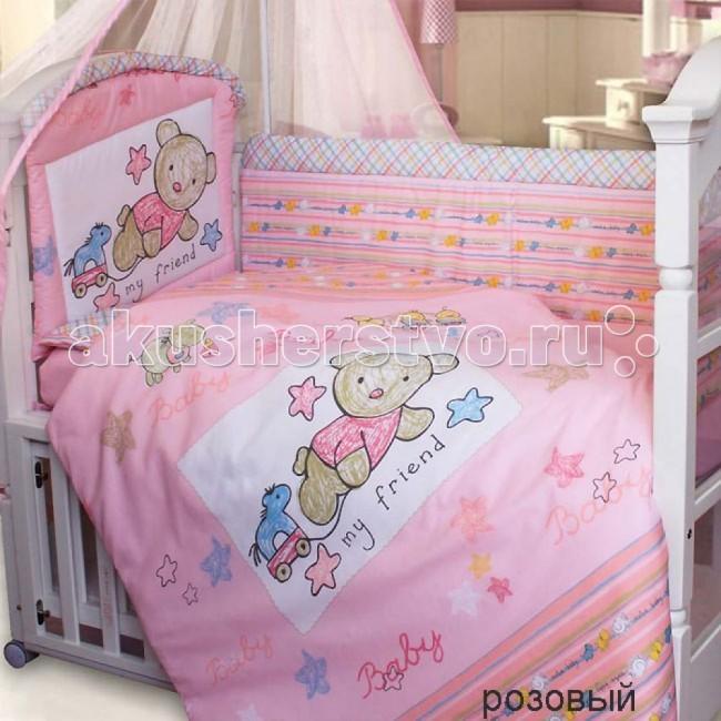 Бампер для кроватки Золотой Гусь Zoo Bear