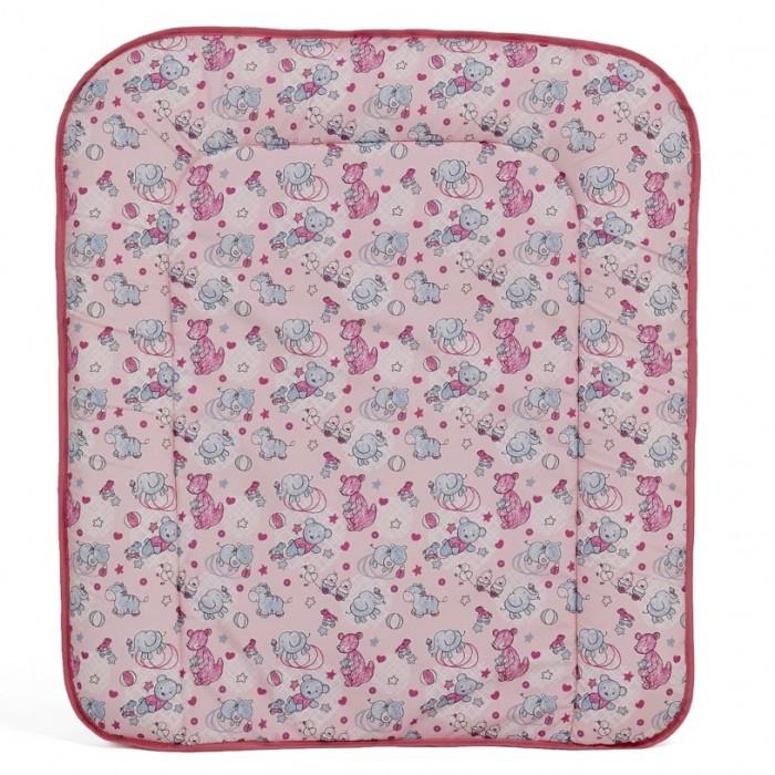 Накладка для пеленания Фея мягкая на комодмягкая на комодМягкая пеленальная доска на комод предназначена для ребенка в возрасте до 6 месяцев.  Мягкие полукруглые бортики предотвращают скатывание малыша.  размеры изделия: 60 x 70 x 2,5 см легкий матрасик поверхность: ПВХ наполнитель: холлофайбер  Внимание! Рисунок может отличаться от представленного на фото!<br>
