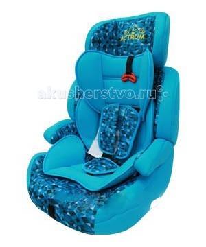 Автокресло Actrum 515-DL515-DLДетское автокресло Actrum 515-DL с длительным сроком использования, группы 1-2-3 (вес - от 9 до 36 кг, возраст - от 9 месяцев до 12-ти лет). Дети весом от 9 до 18 кг должны пристегиваться ремнями, которыми оснащено сиденье; дети от 18 до 25 кг должны быть пристегнуты стандартными ремнями безопасности.  Модель имеет внутреннюю вставку с собственными ремнями безопасности для перевозки малышей от 1 года, глубокое сидение с подголовником и защитными бортами предназначено для детей от 3 до 7 лет, а съемная спинка превращает кресло в бустер для школьников. Сиденье моется теплой водой с мылом, мягкий чехол можно стирать вручную.  · Конструкция обеспечивает правильную позицию, полный комфорт и максимальную безопасность · Благодаря 5-ти точечным ремням с мягкими накладками, регулируемыми по высоте, вашему малышу будет комфортно в кресле, а вы можете быть уверены в его безопасности · 5-точечные ремни безопасности с центральной регулировкой и карабином, который не сможет открыть ребёнок · Съёмные ремни безопасности, когда ребёнок вырастает из 5-точечной системы и начинают использоваться штатные ремни безопасности автомобиля · Удобные, легко снимающиеся, моющиеся чехлы с мягкой набивкой · Конструкция автокресла отвечает самым строгим требованиям Европейского стандарта безопасности ЕСЕ R44/03  Внимание: автокресло нельзя устанавливать на сидении с включенной подушкой безопасности.<br>