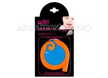 Прорезыватель Adiri A Teething Rings силиконA Teething Rings силиконМягкое кольцо Adiri A Teething Rings из силикона обеспечивает малышу максимальный комфорт при прорезывании зубов, создает эффект расслабляющего массажа, охватывая все области десен. При использовании кольца выделяется слюна, что помогает предотвратить ранний кариес. Не содержит бисфенол А (BPA free);<br>