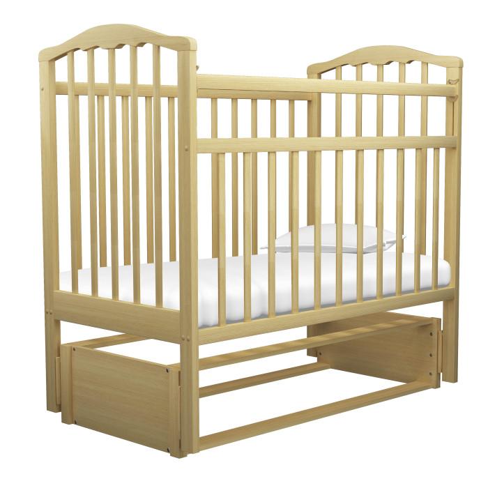 Детская кроватка Агат Золушка-5 маятник продольныйЗолушка-5 маятник продольныйКроватка Золушка-5 имеет Европейский дизайн.   2 положения днища.   Боковая автостенка.  Впоследствии боковую стенку можно снять совсем, таким образом кроватка превратится в очень уютный диванчик.  Маятник продольного качания, что особо актуально в первые месяцы жизни крохи.  Детская кроватка имеет Европейский дизайн, изготовлена полностью из массива березы, покрыта абсолютно нетоксичными и безвредными для здоровья детей лаками, а также имеет очень нарядную форму спинок.  Внешние размеры: 127x67 см Под матрас: 120x60 см<br>