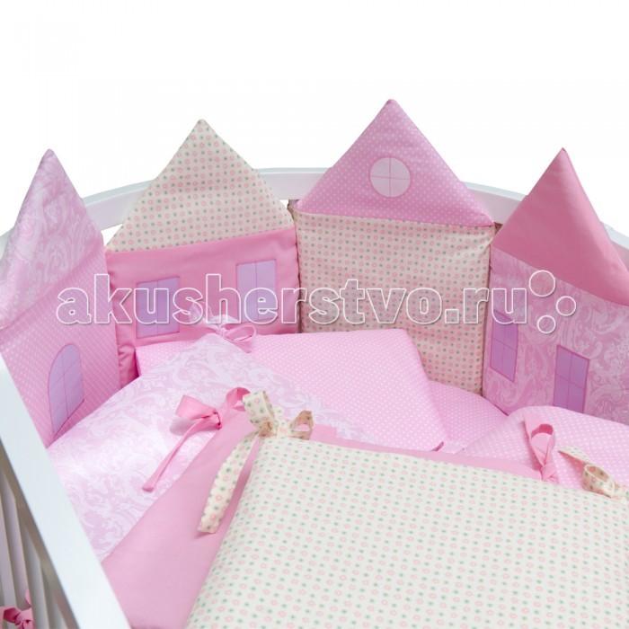 Комплект в кроватку Alis Домики (7 предметов)