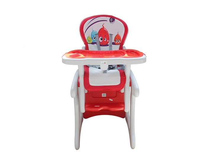 Стульчик для кормления Alis FantasyFantasyСтул-трансформер ALIS Fantasy  Удобный и комфортный детский стульчик-трансформер для кормления Вашего малыша. В начале используется как высокий стульчик, а когда малыш подрастет, трансформируется в удобный стол и стул.   Для Вашего удобства, стульчик имеет мягкую съемную ткань сиденья, которую можно мыть. Трансформируется в стол со стулом.   5-точечные ремни безопасности и анатомическая вставка для разделения ног удерживают ребенка в надежном и безопасном положении. Регулируемое положение спинки. Обеденный поднос можно легко снять и помыть. Мягкую обивку можно снимать и мыть. Устойчив к ударам и падениям. Не имеет острых углов.   Возраст от 6 месяцев до 6-ти лет. Стульчик выполнен из полностью безопасных материалов, соответствует строгим европейским стандартам качества для детских товаров.  Характеристики: Стульчик для кормления подходит для малышей от 6 месяцев до 6-7 лет; каркас стульчика выполнен из высококачественного и прочного пластика; мягкий чехол изготовлен из гипоаллергенной, нетоксичной и дышащей ткани; при необходимости чехол можно снять и стирать на деликатном режиме; наклон спинки регулируется в 3 положениях с помощью специальной удобной ручки; положение столика регулируется в 3-х положениях; стульчик можно полностью отрегулировать под конституцию малыша; трансформируется в парту и стул; 5-ти точечные ремни безопасности не дадут малышу упасть со стульчика; устойчивая и надежная конструкция; максимальная нагрузка: 15 кг<br>