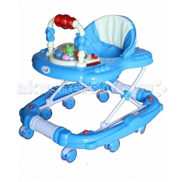 Ходунки Alis ИгрушкиИгрушкиХодунки Alis Игрушки позволят вашему ребенку сделать свои первые шаги. Теперь можно исследовать большие расстояния и больше узнавать окружающий мир.  Особенности: сделаны из прочного и экологически чистого материала конструкция компактно складывается, что удобно для хранения восемь силиконовых колес обеспечивают подвижность и не царапают пол удобное сиденье с высокой спинкой тканевые трусики не дадут малышу выпасть. Их можно снять и постирать предусмотрена  регулировка по высоте, поэтому ходунки можно подстроить под рост ребенка на игровой панели есть множество интересных подвижных элементов, кнопок, активирующих световые и звуковые эффекты забавная карусель с подвесными игрушками вращается<br>