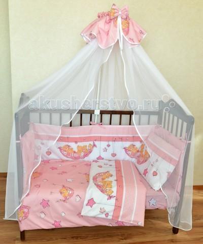 Комплект для кроватки Alis Мишки в гамаке (6 предметов)