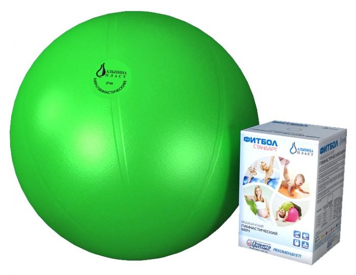 Альпина Пласт  Мяч гимнастический фитбол Стандарт 65 см