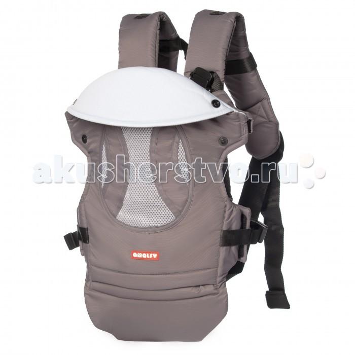 Рюкзак-кенгуру Amalfy GB-902GB-902Современный рюкзак-переноска Amalfy GB-902 подойдет для родителей активных малышей. Универсальный форм-фактор допускает 3 варианта посадки: младенца можно носить горизонтально, на спине или на груди.   Прочный каркас обит мягким материалом и не сковывает движений. Несколько дополнительных ремней обеспечивают идеальную фиксацию ребенка и равномерно распределяют нагрузку на позвоночник.  Особенности: Можно носить ребенка на груди, на спине и горизонтально (для младенцев). При помощи дополнительных ремней равномерно распределяется вес малыша. Оснащен крепким поясничным ремнем. Отворот свободно регулируется. Предназначен для детей от 3.5 до 12 кг. Возраст: с рождения.   Максимальная нагрузка: 12 кг.  Вес рюкзака: 0.9 кг.<br>