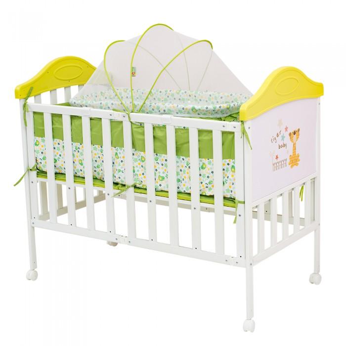 Детская кроватка BabyHit Sleepy CompactSleepy CompactДетская кроватка BabyHit Sleepy Compact  Особенности: Кроватка выполнена «под крашенное дерево» Профиль прямоугольного сечения Размер спального места 120 х 60 см. Компактное складывание «гармошкой» для кратковременного и долговременного хранения 4 колеса со стопорами В комплекте: люлька для новорожденного с москитной сеткой, мягкие бортики, москитная сетка-балдахин<br>