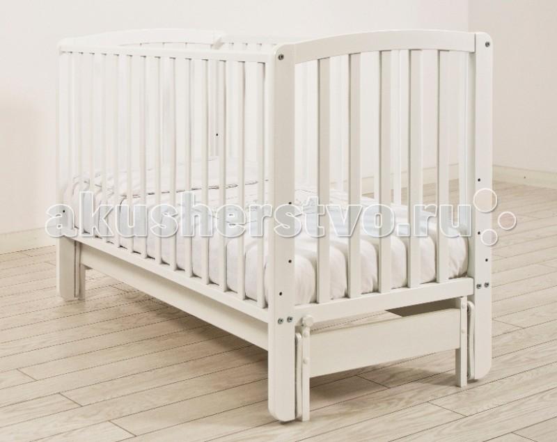 Детская кроватка Angela Bella Бьянка (продольный маятник)