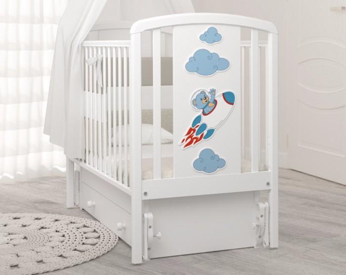 Детская кроватка Angela Bella Жаклин (маятник универсальный)