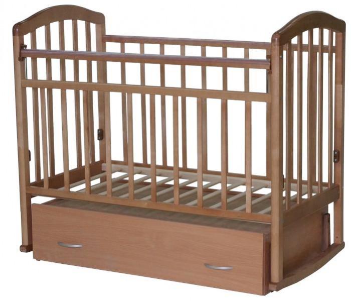 Детская кроватка Антел Алита 4 (маятник поперечный)