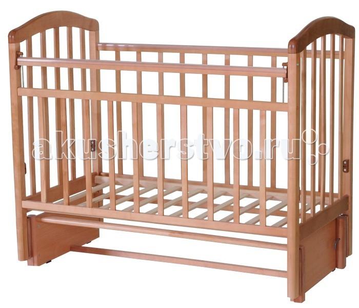 Детская кроватка Антел Алита 5 (маятник продольный)
