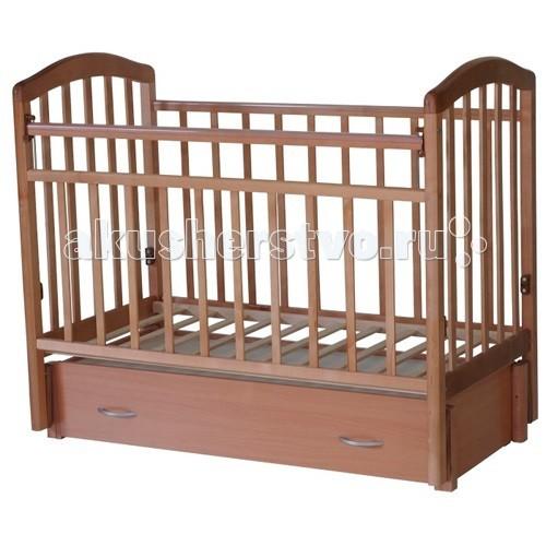 Детская кроватка Антел Алита 6 (маятник продольный)