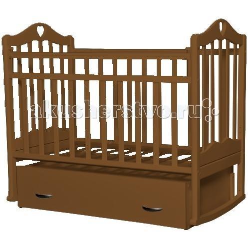 Детская кроватка Антел Каролина 4 (маятник поперечный)