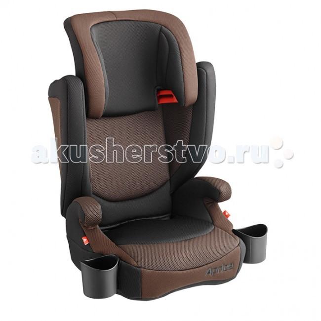 Автокресло Aprica Air RideAir RideАвтомобильное кресло для ребенка от трех до 11 лет, разработанное с учетом физиологических особенностей строения тела маленького пассажира. Автокресло имеет регулируемый по высоте подголовник, а это значит, что изделие будет «расти» вместе с ребенком. По достижении веса 22 кг вы можете снять спинку, трансформировав автокресло в удобный бустер.   Изделие оборудовано удобными подстаканниками и подлокотниками, имеет отличную систему вентиляции и специальные 3D подушки, расположенные в области головы, спины и боков. Автокресло рассчитано на длительный период времени, гарантируя на всем протяжении его эксплуатации максимальный комфорт и безопасность во время поездки.   Характеристики: предназначено для детей от 3 до 11 лет (вес от 15 до 36 кг), для детей весом от 22 до 36 кг автокресло трансформируется в бустер соответствует европейскому стандарту безопасности (ECE-R44/04) широкое, комфортное сидение с подлокотниками. Со временем спинка снимается, оставляя удобный бустер регулируемый по высоте подголовник поддерживающие 3D подушки в области головы, спины, боков удобные подстаканники вентиляционные отверстия в области головы, спины, боков съемная ткань легко стирается при температуре 30°С крепится по ходу движения при помощи штатных ремней  Размеры (дхгхв) - 44.2х41.3х67.2-75 см Вес:    автокресла  4.5 кг бустера  1.7 кг<br>