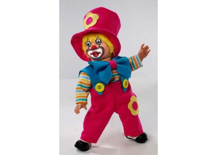 Arias Клоун 38 смКлоун 38 смArias Клоун 38 см  Клоун от бренда Arias, который всем своим внешним видом демонстрирует радость, веселье и легкое безумие, в хорошем смысле этого слова.   Весь образ куклы изобилует яркими цветами, которые непременно привлекут к себе внимание, 38 см.<br>