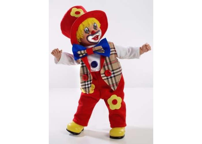 Arias Клоун в коробке 50 смКлоун в коробке 50 смArias Клоун 50 см  Клоун от бренда Arias, который всем своим внешним видом демонстрирует радость, веселье и легкое безумие, в хорошем смысле этого слова.   Весь образ куклы изобилует яркими цветами, которые непременно привлекут к себе внимание, 50 см.<br>