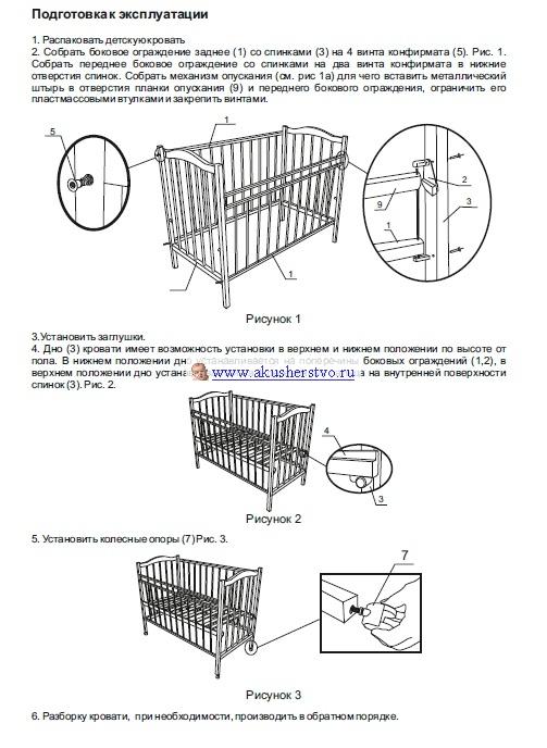 Детальная инструкция по сборке
