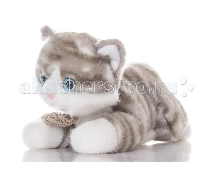 Мягкая игрушка Aurora Котик 22 смКотик 22 смМягкая игрушка Aurora Котик 22 см от которой ваш ребенок придет в восторг. Она изготовлена из безопасных высококачественных синтетических материалов, которые абсолютно безвредны для ребенка.   Особенности: У него бело-серая шерстка, мягкая и приятная на ощупь, а также выразительные голубые глазки и прелестный розовый носик.  Котенок лежит на животе, вытянув передние лапы перед собой - глядя на него, невозможно сдержать улыбки умиления!  Длина игрушки составляет 22 см, ее удобно брать с собой на прогулки или в детский садик.  Его можно стирать как вручную, так и в машинке, он не теряет цвета и не деформируется со временем. Модель способствует развитию у детей воображения, усидчивости, тактильной  Крепкие швы надежно удерживают набивку игрушки внутри.<br>