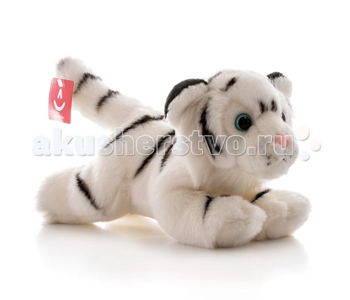 Мягкая игрушка Aurora Тигр 28 смТигр 28 смМягкая игрушка Aurora Тигр 28 см от которой ваш ребенок придет в восторг. Она изготовлена из безопасных высококачественных синтетических материалов, которые абсолютно безвредны для ребенка.   Особенности: У тигра мягкая и приятная на ощупь шерстка, симпатичная мордочка с розовым носом и выразительные зеленые глазки. Его можно стирать как вручную, так и в машинке, он не теряет цвета и не деформируется со временем. Модель способствует развитию у детей воображения, усидчивости, тактильной  Крепкие швы надежно удерживают набивку игрушки внутри.<br>
