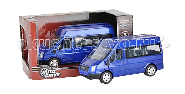 AutoDrive ������� ����������� Ford Transit �����-����� 1:32