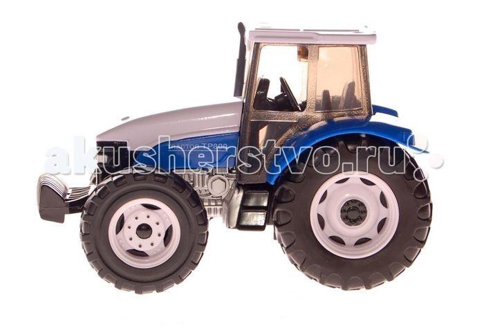 Autotime Трактор МодернТрактор МодернТрактор Autotime Модерн — это коллекционная модель, которая является копией настоящего трактора в масштабе 1:32  Длина трактора 12 см.   Корпус выполнен из металла с добавлением элементов из пластика.<br>