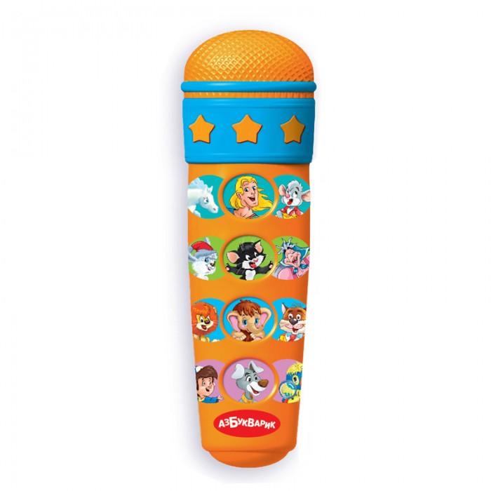 Музыкальная игрушка Азбукварик Микрофон Караоке я пою 14 песенок