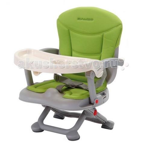 Стульчик для кормления Babies H-1H-1Стульчик Babies H-1 не будет занимать много места на кухне. Так же он легко складывается и его можно брать с собой в путешествия. Стул может использоваться самостоятельно или же крепиться на любой взрослый стул.  Особенности: Может использоваться самостоятельно или же крепиться к любому взролому стулу Предназначен для детей от 6 месяцов до 3-х лет (до 15 кг) Нескользящие ножки устойчивы на поверхности, на которую устаналивается стульчик Мягкий чехол легко снимается для стирки Столик снимается и легко моется в посудомоечной машине Сидение крепится на любой стул ремнями, является очень устойчивым Стул легко складывается, являясь компактным в сложенном виде В комплекте идет сумка для транспортировки<br>