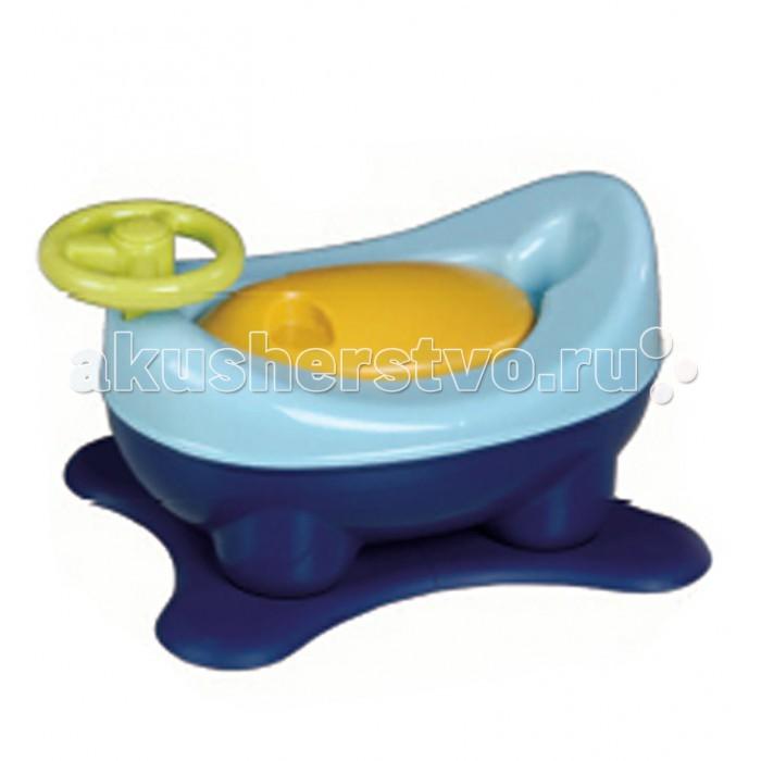 Горшок Babies подножка 3 в 1 P-65 музыкальныйподножка 3 в 1 P-65 музыкальныйЭту систему 3 в 1 отличают мягкий дизайн и эргономичные формы, нацеленность на различные возрастные категории малышей. Легко трансформируется из горшка в удобную ступеньку-подножку и накладку на унитаз.  Характеристики: материал - высококачественный пластик благодаря эргономичному дизайну и мягким контурам, ребенку приятно и удобно им пользоваться выполнен в виде машинки, имеет руль вынимаемый внутренний горшок легко опорожнять и мыть резиновые края основания горшка надежно удерживают его на полу трансформируется из горшка в удобную ступеньку-подножку и будет незаменимым помощником для ребенка в доме, поможет малышу достать до раковины или туалета трансформируется в накладку на унитаз имеет музыкальную кнопку<br>