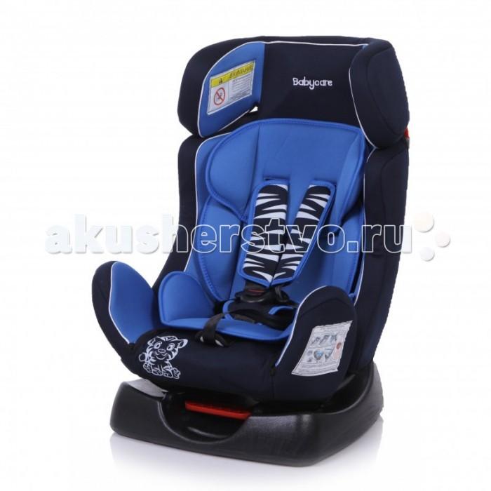 Автокресло Baby Care BC-719 Люкс ТигрёнокBC-719 Люкс ТигрёнокBaby Care BC-719 Люкс Тигрёнок - детское автокресло, предназначенное для детей от рождения до 7 лет весом до 25 кг. Автокресло имеет ярко выраженную боковую защиту и надежную систему крепления внутренних пятиточечных ремней, что обеспечивает безопасность ребенка при резких поворотах и боковых ударах.  Внутренние пятиточечные ремни регулируются по высоте в зависимости от роста ребенка. Благодаря ортопедической форме спинки и регулировки наклона автокресла, мягкому вкладышу и накладкам внутренних ремней безопасности ребенку удобно и комфортно в поездке. В детском автомобильном кресле Baby Care BC-719 Люкс Тигрёнок ваш ребенок будет путешествовать в безопасности и с удовольствием!  Преимущества модели в области удобства:  мягкий подголовник, вкладыш и накладки внутренних ремней обеспечивают максимальный комфорт ребенка ортопедическая форма кресла обеспечивает повышенный комфорт ребенка и защиту от нагрузок во время поездки регулировка внутренних ремней по высоте в зависимости от роста ребенка 3 положения регулировки наклона автокресла: одно в группе 0+ и два в группе &#189; износостойкий чехол легко снимается для стирки  Преимущества модели в области безопасности: ярко выраженная боковая защита обеспечивает безопасность при резких поворотах и боковых ударах прочный каркас автокресла изготовлен экструзионно-выдувным методом надежная система внутренних пятиточечных ремней с использованием специально разработанных ременных лент российского производства замок ремней с мягким клапаном и защитой от неправильного использования нетоксичный гипоаллергенный материал безопасен для ребенка соответствует правилам ЕЭК ООН № 44-04  Способ установки: против хода движения (для ребенка весом до 13 кг), по ходу движения (для ребенка весом от 13 до 25 кг)  Габариты кресла, ширина/ глубина/ высота: 44/69/65 см Габариты посадочного места, ширина/ глубина/ высота: 29/30/51 см  Вес кресла: 5.3 кг<br>