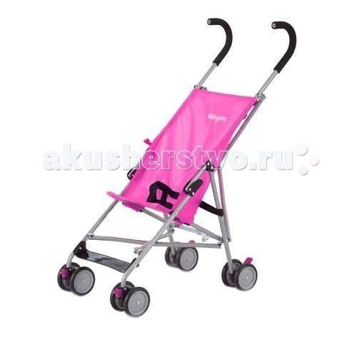 Коляска-трость Baby Care BuggyBuggyКоляска-трость Baby Care Buggy (Беби Кар Багги) — самая легкая прогулочная коляска-трость, идеально подходит для городских путешествий, выездов на дачу, на природу. Отличается качественным оригинальным исполнением при невысокой стоимости. Коляска очень компактна и легка — поместится в багажнике автомобиля, отделении для ручной клади в самолете. У коляски комфортное сиденье для размещения Вашего ребенка.  Характеристики: — легкая алюминиевая рама; — передние поворотные колеса с фиксатором; — стояночные тормоза на задних колесах; — сдвоенные колеса из искусственной вспененной резины — пеноплена; - 5-ти точечные ремни безопасности, — очень маневренная; — легко и быстро складывается.  Цвет: Red-sprints (красные, бежевые, коричневые полосы). Ширина сидения: 29 см Глубина сидения: 26 см Вес: 4.5 кг Диаметр колес: 12 см Ширина колесной базы: 44 см<br>
